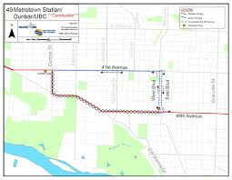 Vancouver Skytrain Map The Buzzer Blog Significant Detours On The 49 Bus Between West