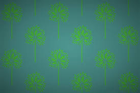 free stylised bay tree wallpaper patterns
