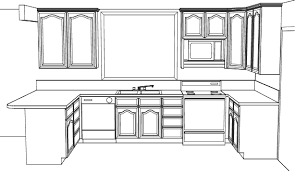 Kitchen Design Drawings Simple Kitchen Drawing Simpleu Gif Magnificent Decorating Design