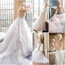 amazing bohemian style wedding dresses chiffon garden backless