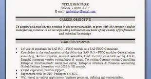 Sap Sd Resume 5 Years Experience Sap Basis Resume Sap Sap Bi Sample Resume For 2 Years Experience