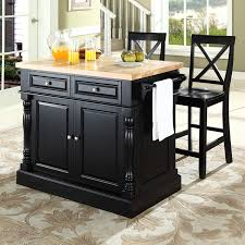 stainless steel kitchen island with butcher block top how to