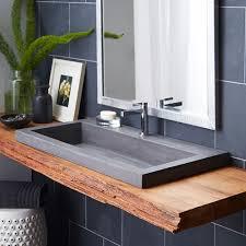 Vanity Sinks Bathroom by Vessel Bathroom Sinks Trough Style Bathroom Sink Trough Vanity