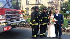 North Bay Deputy Fire Chief by Alameda County Firefighters Save U0027bride Groom And Cake U0027 After
