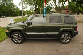 used jeep patriot 2009 jeep patriot 4x4 limited green suv sale