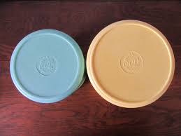 eon canisters pastel bakelite sugar and tea australia 1930s x 2