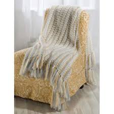 crochet home décor blankets u2013 premier yarns