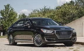 lexus ls vs genesis g90 2017 genesis g90 3 3t awd test u2013 review u2013 car and driver
