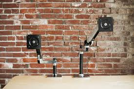 Lx Hd Sit Stand Desk Mount Lcd Arm by The Best Monitor Arms Bingo Byte