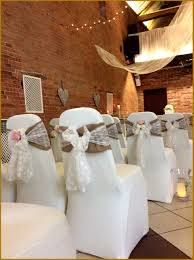 lace chair sashes and groom chair covers fresh hessian chair sashes with lace