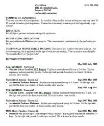 Resume Skill Section Law Resume Skills Section