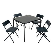 lightweight folding table and chairs cosco 5 piece vinyl folding table chair set shopko