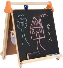 amazon com discovery kids 3 in 1 artist tabletop easel multi