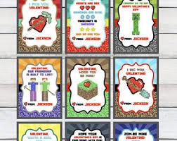 boys valentines gamer etsy