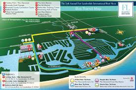 map of ft lauderdale overview maps at fort lauderdale international boat 2016