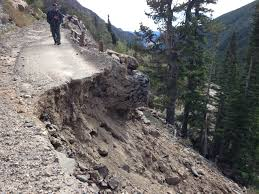 Rocky Mountain National Park Map Flood Impacts Will Close Old Fall River Road Through 2014