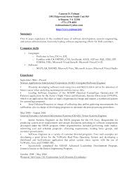 Resume Summary Paragraph Examples by Example Of A Summary On A Resume Resume Templates