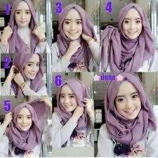 tutorial jilbab segi 4 untuk kebaya cara memakai hijab 30 cara memakai jilbab segi empat terbaru