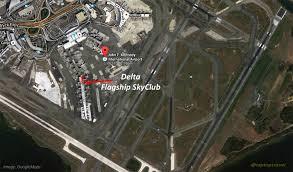 Jfk Terminal Map Delta U0027s Jfk Terminal 5 Flagship Skyclub Visit U0026 Review Morning