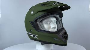 motocross helmet with face shield afx fx 19 motocross helmets 360 degree spin youtube