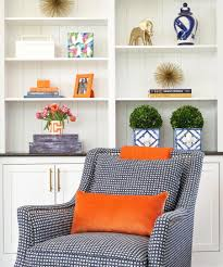 blog jana bek design a sneak peek of our large navy brushstroke lamp in viewfrommyheels client s living room we cannot wait to see more of meredith s design