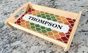 personalized serving dishes custom logo serving tray like this item custom acrylic serving