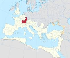 germania map germania superior