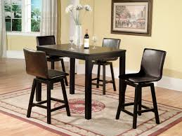 Dining Room Table With Swivel Chairs by Counter Height Dinette Sets Homesfeed