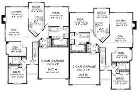 33 best duplex plans images on pinterest family house plans