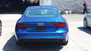 2016 sepang blue rs7 with audi exclusive interior audiworld forums