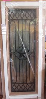 Exterior Doors Houston Tx 10 Lite Iron Grill Mahogany Wood Door For The