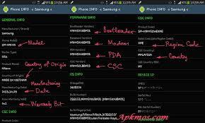 apk paid phone info samsung 3 5 9 apk apkmos