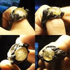metal stone rings images Shannon larratt is zentastic some new rings casting metal jpg