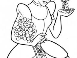 cinderella coloring book pages disney free coloring today