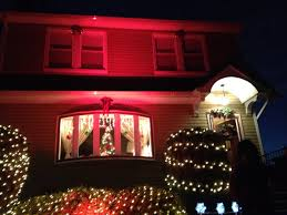 home outside decoration i u0027m so happy with my red spotlight christmas outside decoration