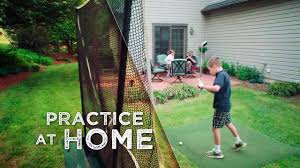 golf course netting practice nets pictures with awesome backyard