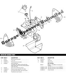 garage door sensor wire liftmaster garage door opener parts diagram wageuzi