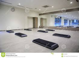 empty yoga classroom stock photo image 65729984