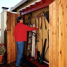 Garden Tool Shed Ideas Garden Tool Storage Shed Image For Wooden Garden Tool Shed