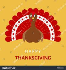 happy thanksgiving celebration design turkey stock vector
