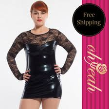 discount plus size leather dress wholesale 2017 plus size