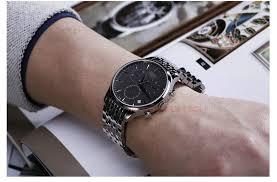 stainless steel bracelet strap images Ogle 1853 t063 strip 20mm tissot watch strap handsome male