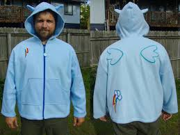 rainbow dash cosplay hoodie 2 3xl for sale by monostache on