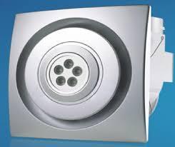 brilliant bathroom exhaust fan with led light fantech fans