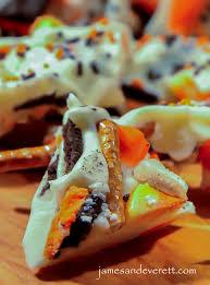 halloween cookie u0026 candy corn bark u2013 james u0026 everett