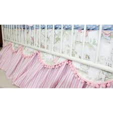 Moon Crib Bedding Crib Skirt Cow Jumped The Moon Baby Bedding And