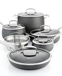 cookware sets black friday deals belgique hard anodized 11 pc cookware set created for macy u0027s