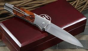 william henry kitchen knives henry b30 tiz ironwood folding knife