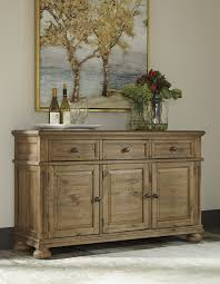 Server Dining Room Trishley Light Brown Dining Room Server Accent Cabinets