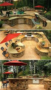 Outdoor Kitchen Design Ideas 61 Best Outdoor Kitchen Images On Pinterest Outdoor Kitchens